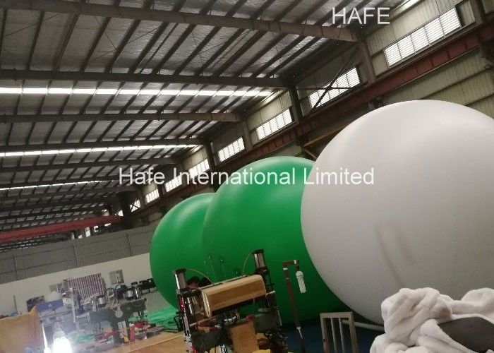 Customize 4m Commercial Light Up Helium Balloons Advertising Trade Show